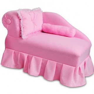 Fantasy Furniture Pink Princess Chaise