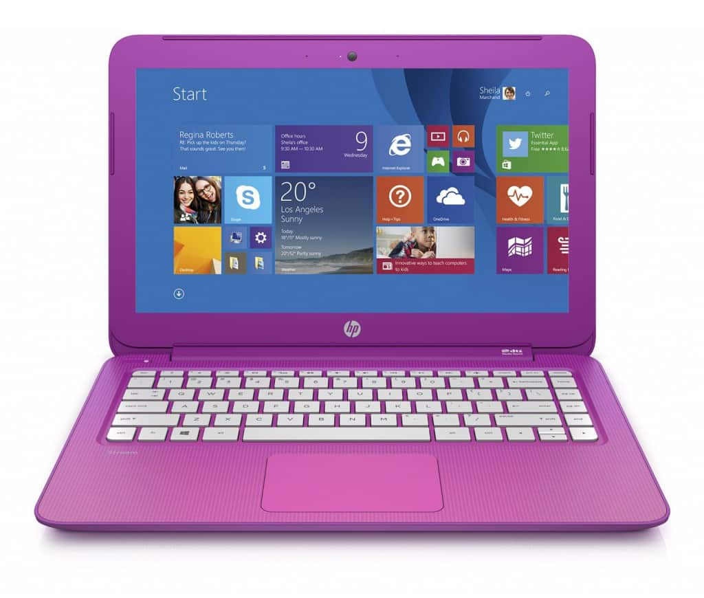 HP Stream 13 Laptop in Pink 2