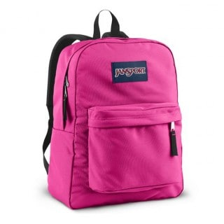 Jansport-Classic-Pink-Backpack
