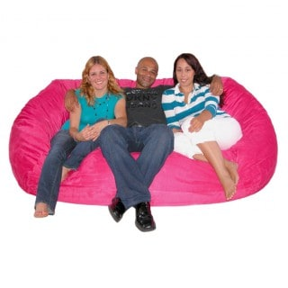Large-7-Foot-Adult-Size-Pink-Bean-Bag