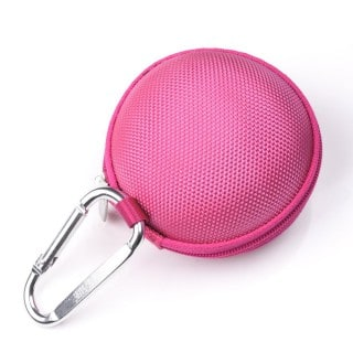 Pink Earphone Hard Case
