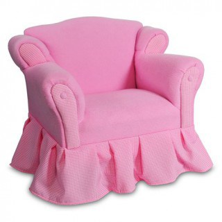 Pink Ruffle Chair
